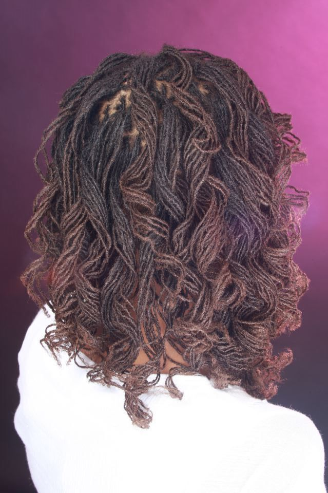 sisterlocks curls locs natural