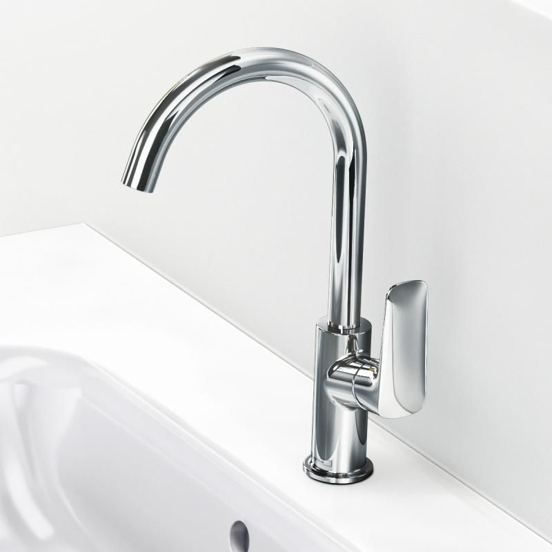 436 zl Hansgrohe Logis single lever basin mixer 210 with swivel ...