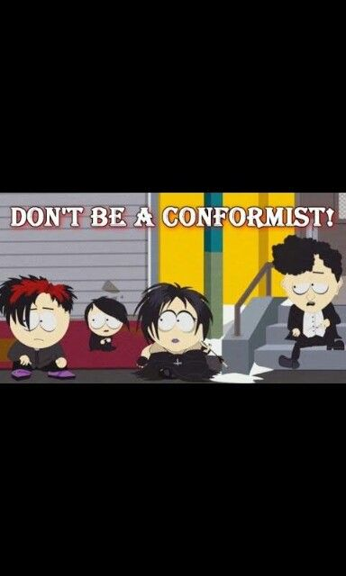 South Park=Goth kids (With images) | South park goth kids ...