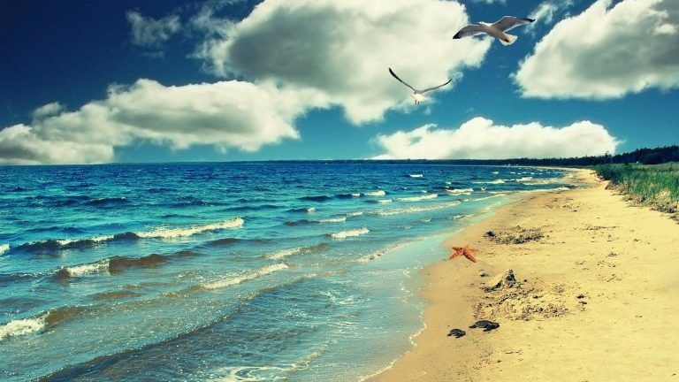 Beautiful Sea Nature Side Wallpaper 1080p Laptop