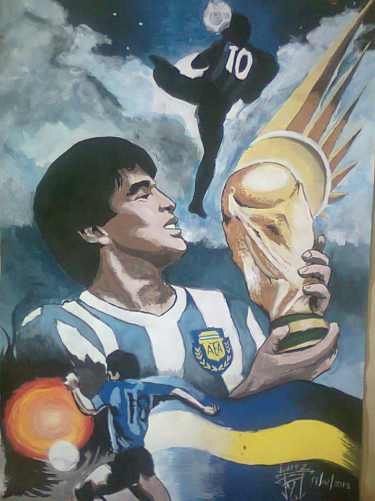 The Hand Of God Maradona La Mano De Dios Maradona Galeria De