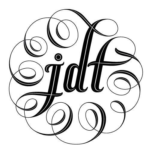 JDT wine bottle by Ales Santos, via Behance