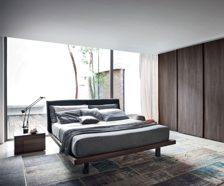 das schlichte und moderne designer bett nido von novamobili aus italien bett designerbett - Designer Schlafzimmer
