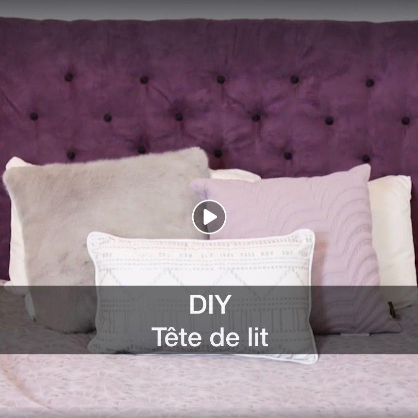 Diy Tête de lit capitonnée à partir d'un pegboard  pegboarddiy  diy  doityourself  tetedelit  purplebedroom  video  diyvideo  headboard