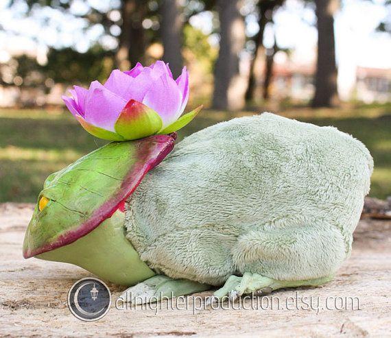 Pondling Purple Lily Pad Dragon OOAK by AllNighterProduction