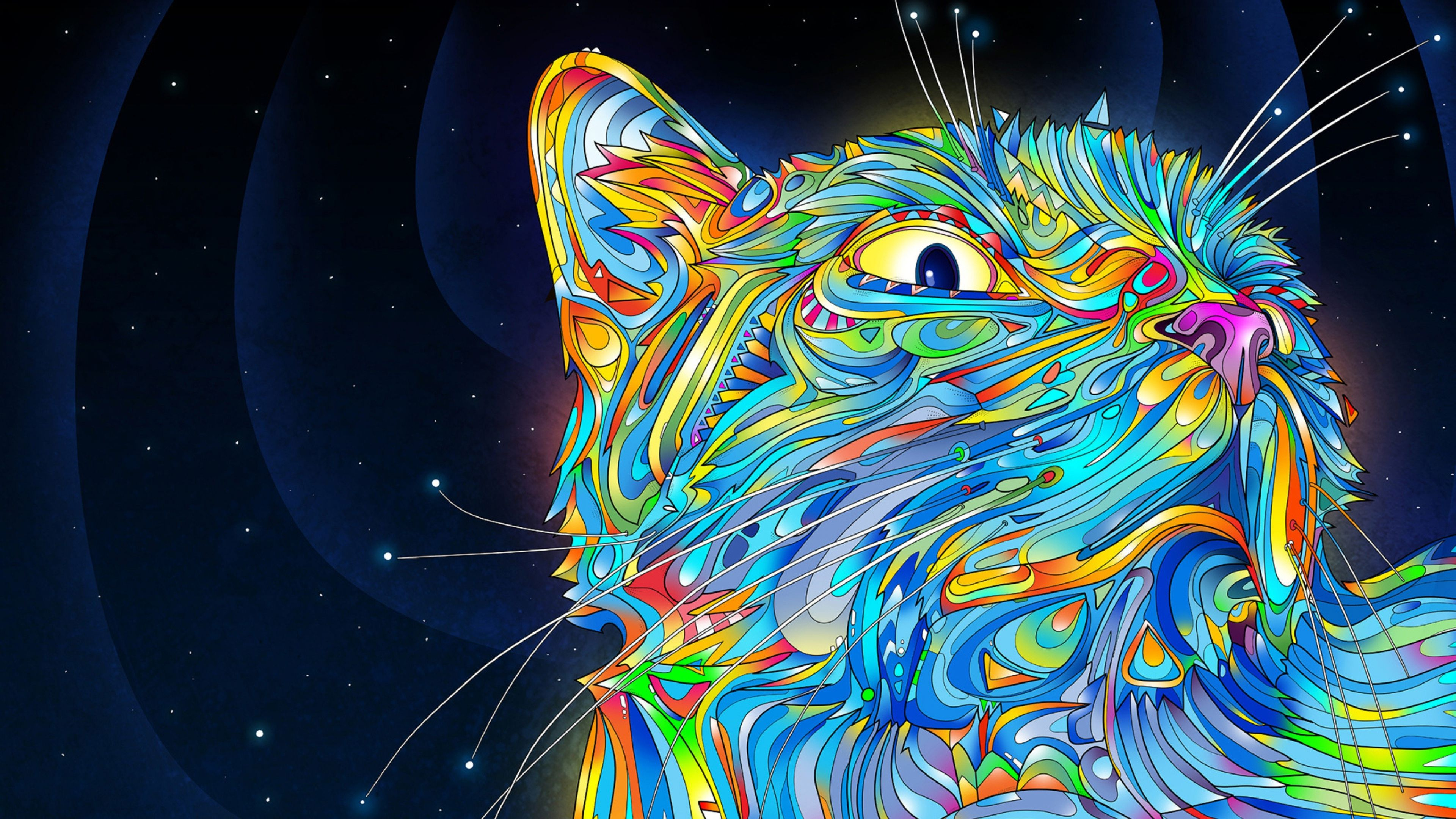 Abstraction Vector Cat Colorful Paint 321 3840x2160  #3840x2160 #Abstraction #Cat #Colorful #Paint #Vector Check more at https://wallpaperfree.org/abstract-wallpapers/abstraction-vector-cat-colorful-paint-321-3840x2160