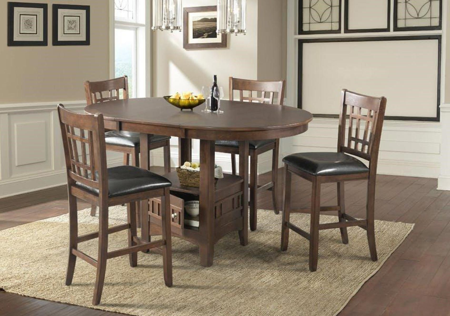 Lacks Max 5 Pc Counter Height Dining Set Dining Rooms