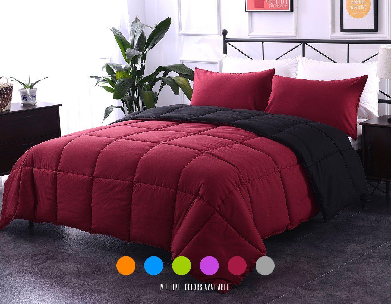 Burgundy Bedding Sets Cheap Sale Duvet comforter sets