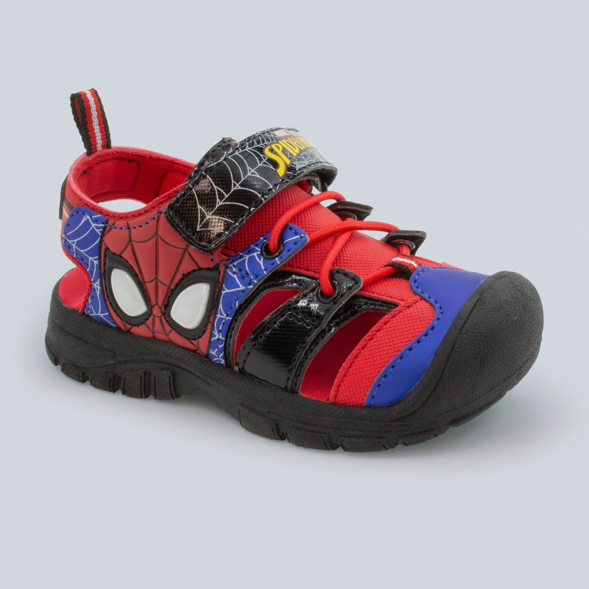 c55eb1351e5 Toddler Boys' Marvel Spider-Man Light-Up Hiking Sandals - Red 11 in ...
