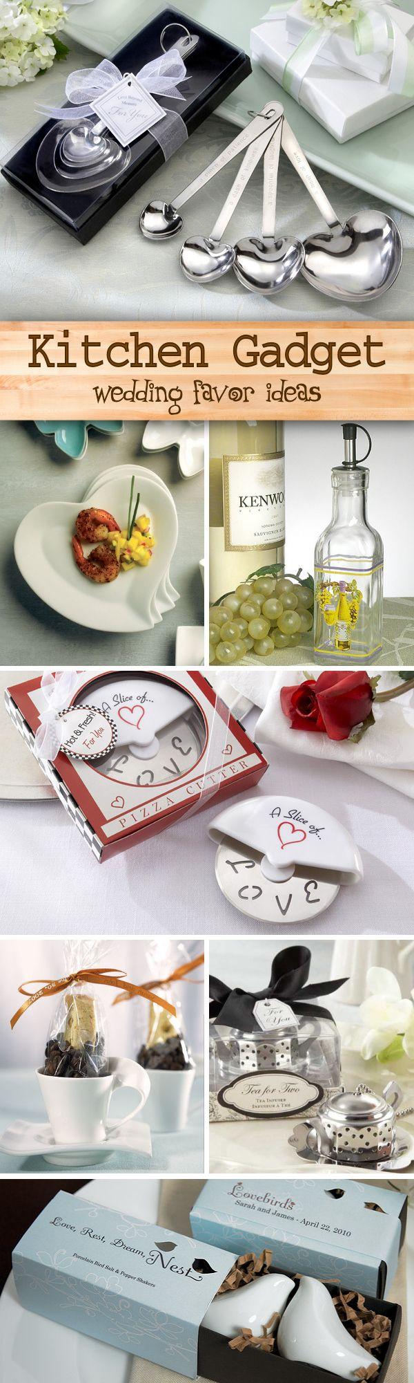 100 Fun And Useful Kitchen Gadget Wedding Favorsasuring