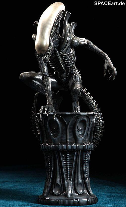 Alien 1 Big Chap Alien Statue Fertig Modell Http Spaceart