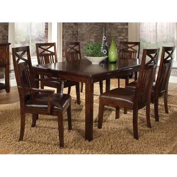 21++ Mission 5 pc standard height dining set Inspiration