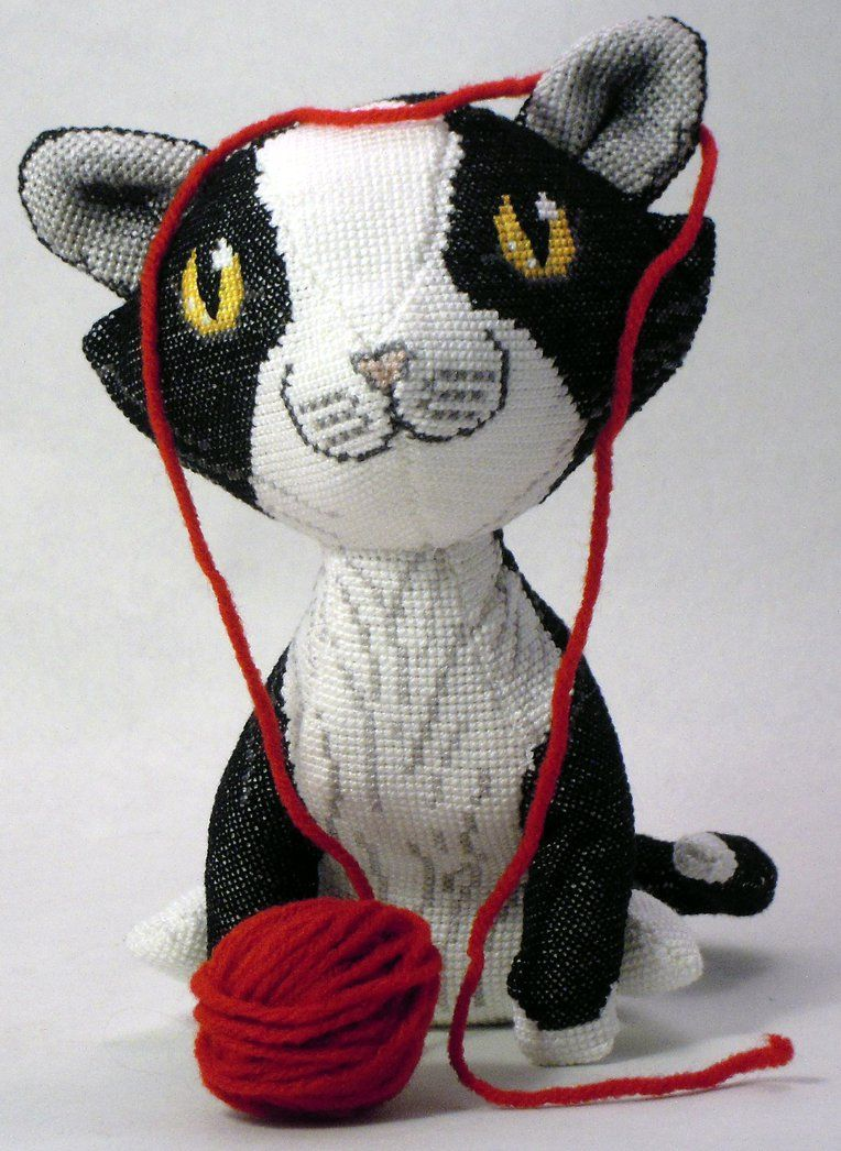 Minecraft Papercraft Tuxedo Cat Tuxedo cat in 3d cross