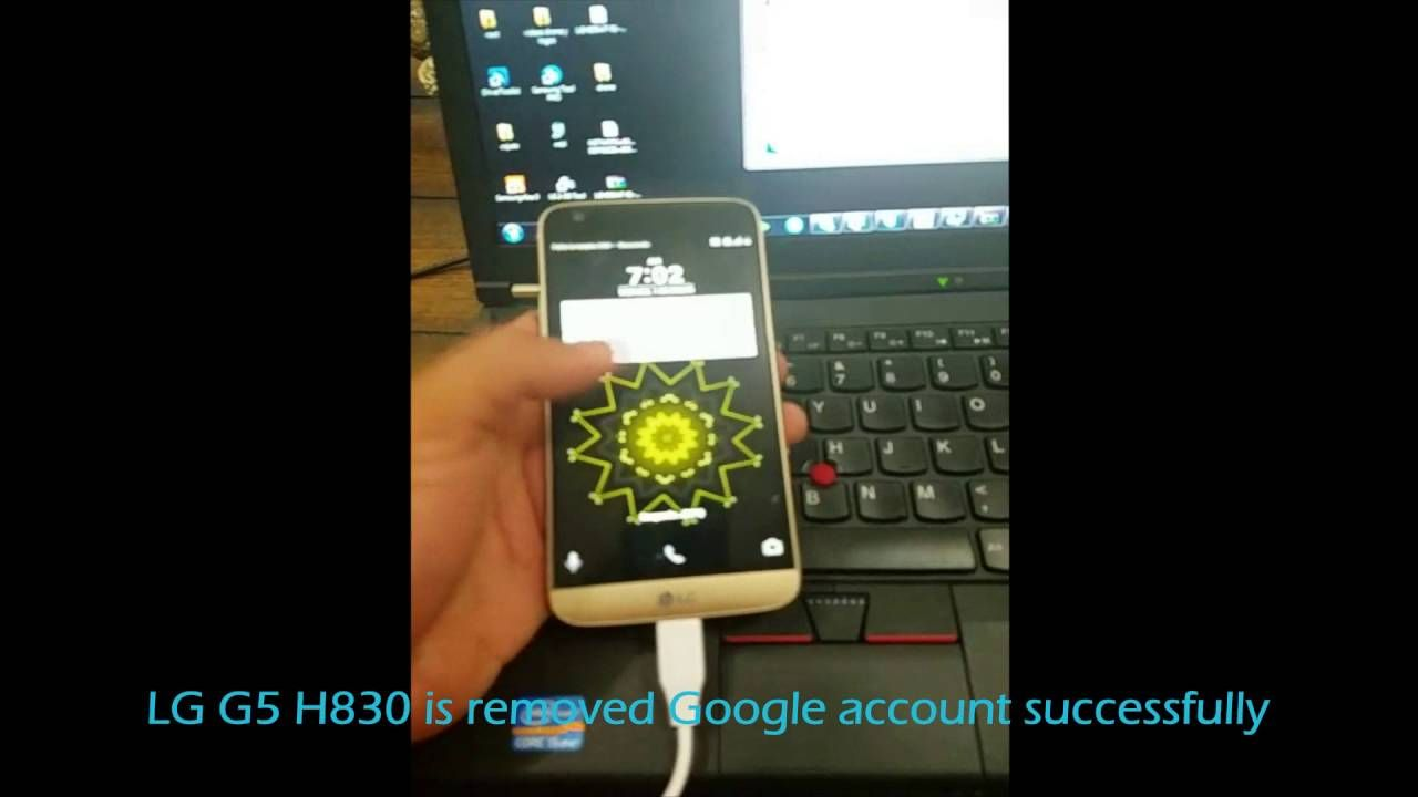 Remove Google Account LG G5 H830 T-Mobile USA successfully
