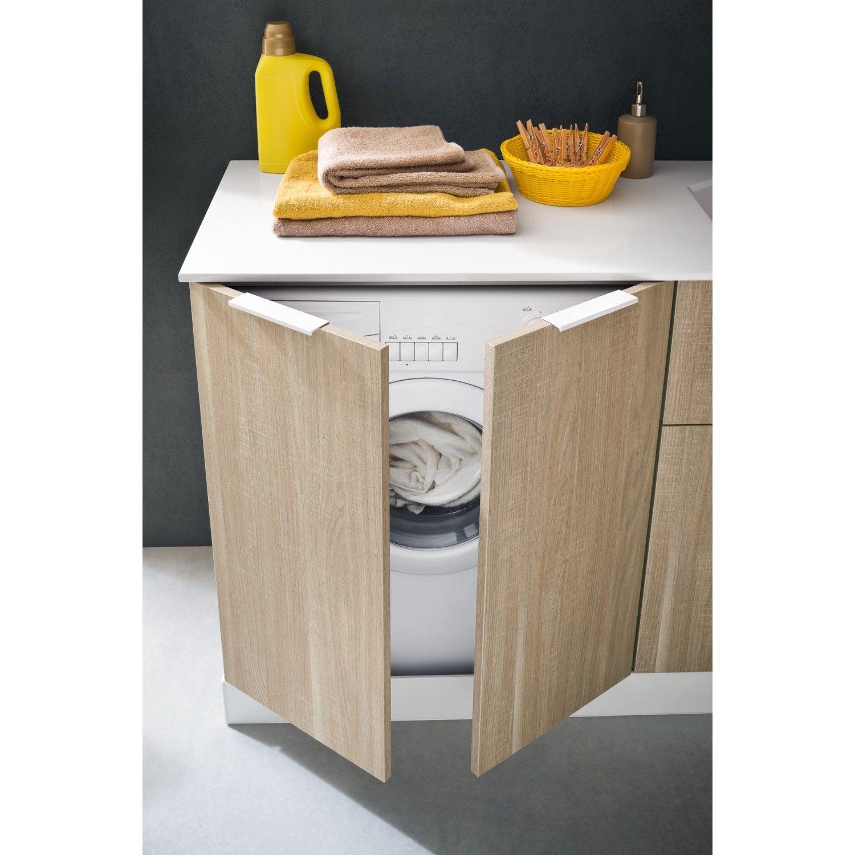 Waschmaschinenschrank Fur Badmobel Der Serie Atlantic Arredaclick