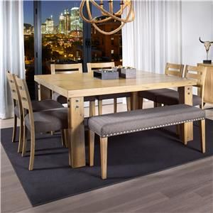 Canadel Loft  Custom Dining Customizable Square Dining Table Set Brilliant Custom Dining Room Tables Inspiration