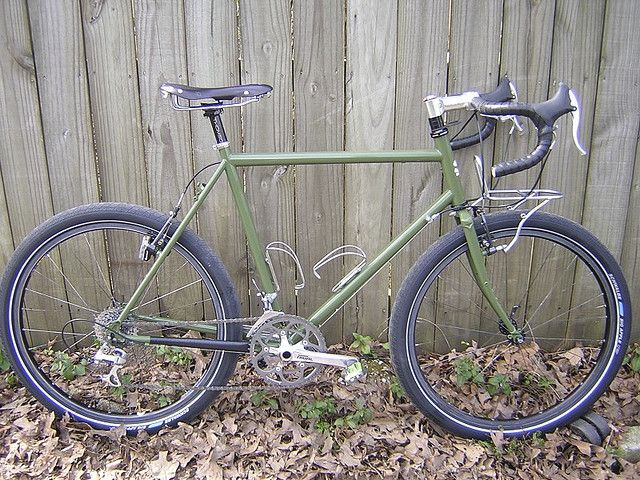 6733c34c 54cm Surly LHT by Nick Marinelli, via Flickr Surly Long Haul Trucker,  Touring Bicycles