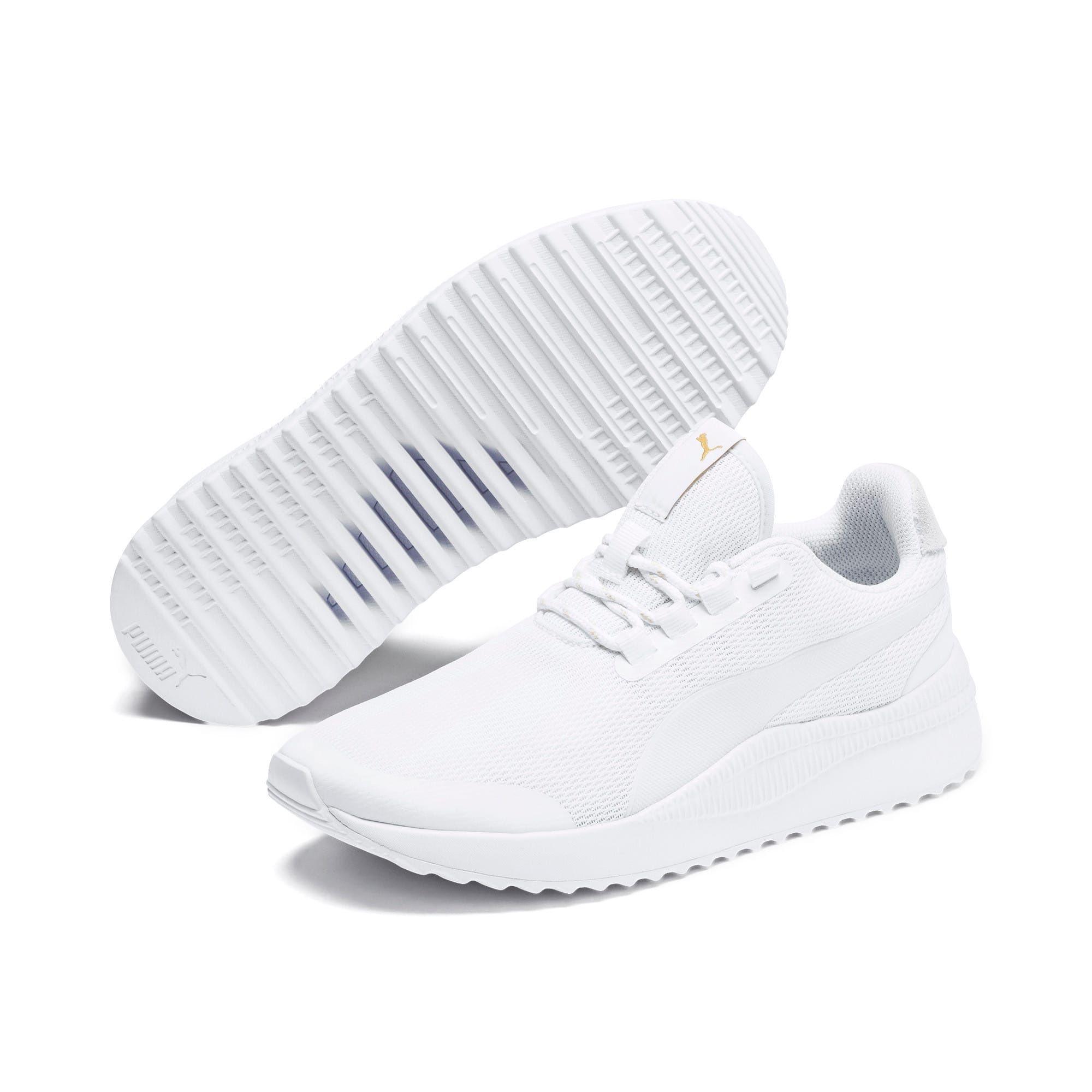 basket enfant puma blanche