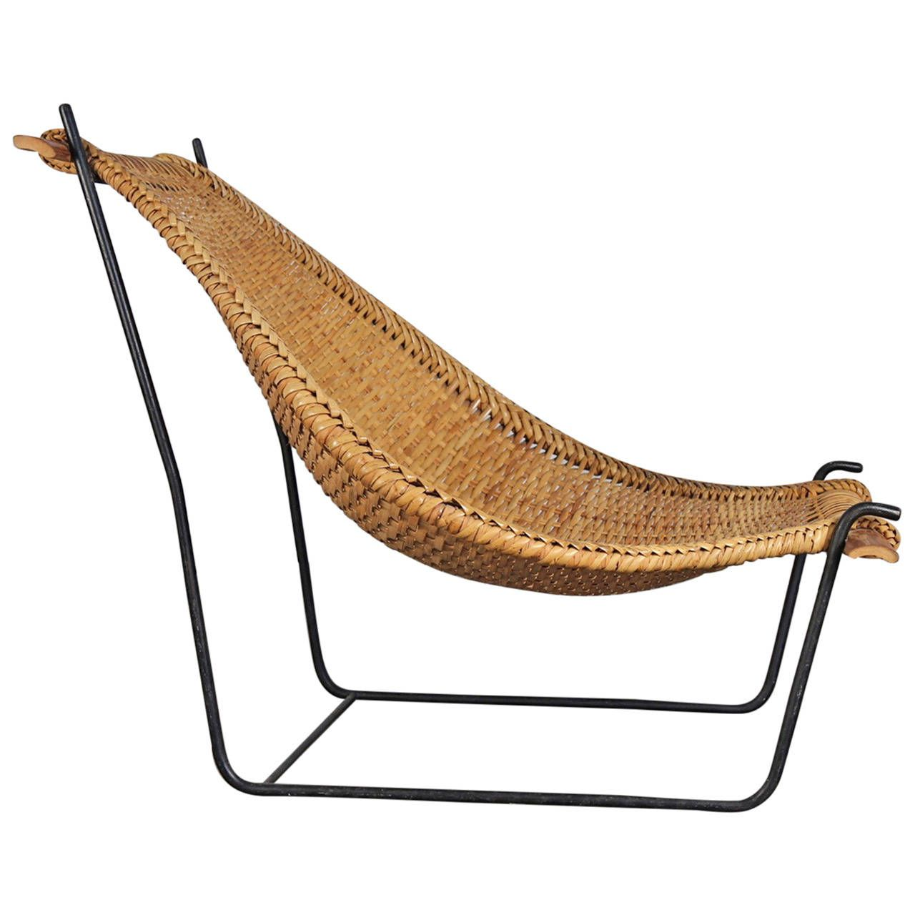Danny Ho Fong Rattan Lounge Chair | Modern lounge, Rattan and ...