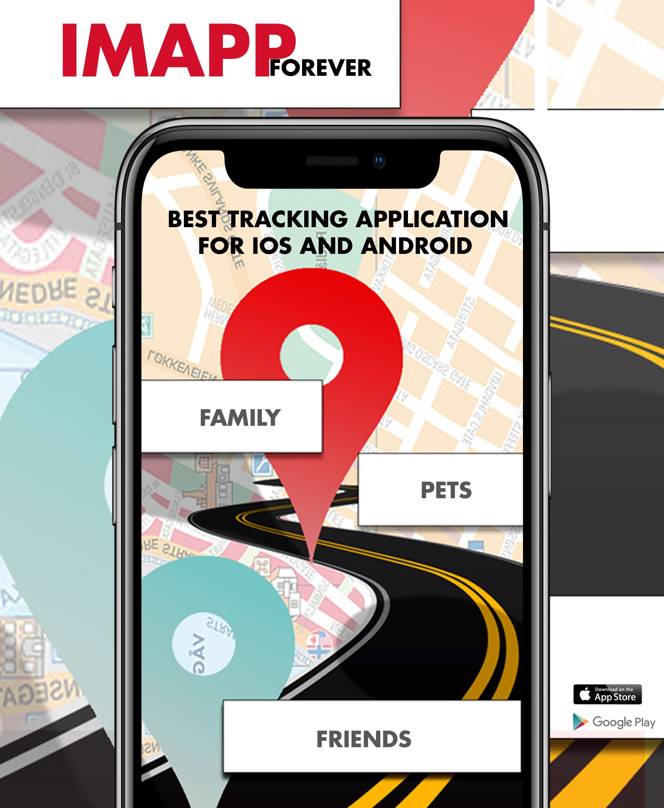 Easy Tracking Mobile Phone Im app, Phone, Find my