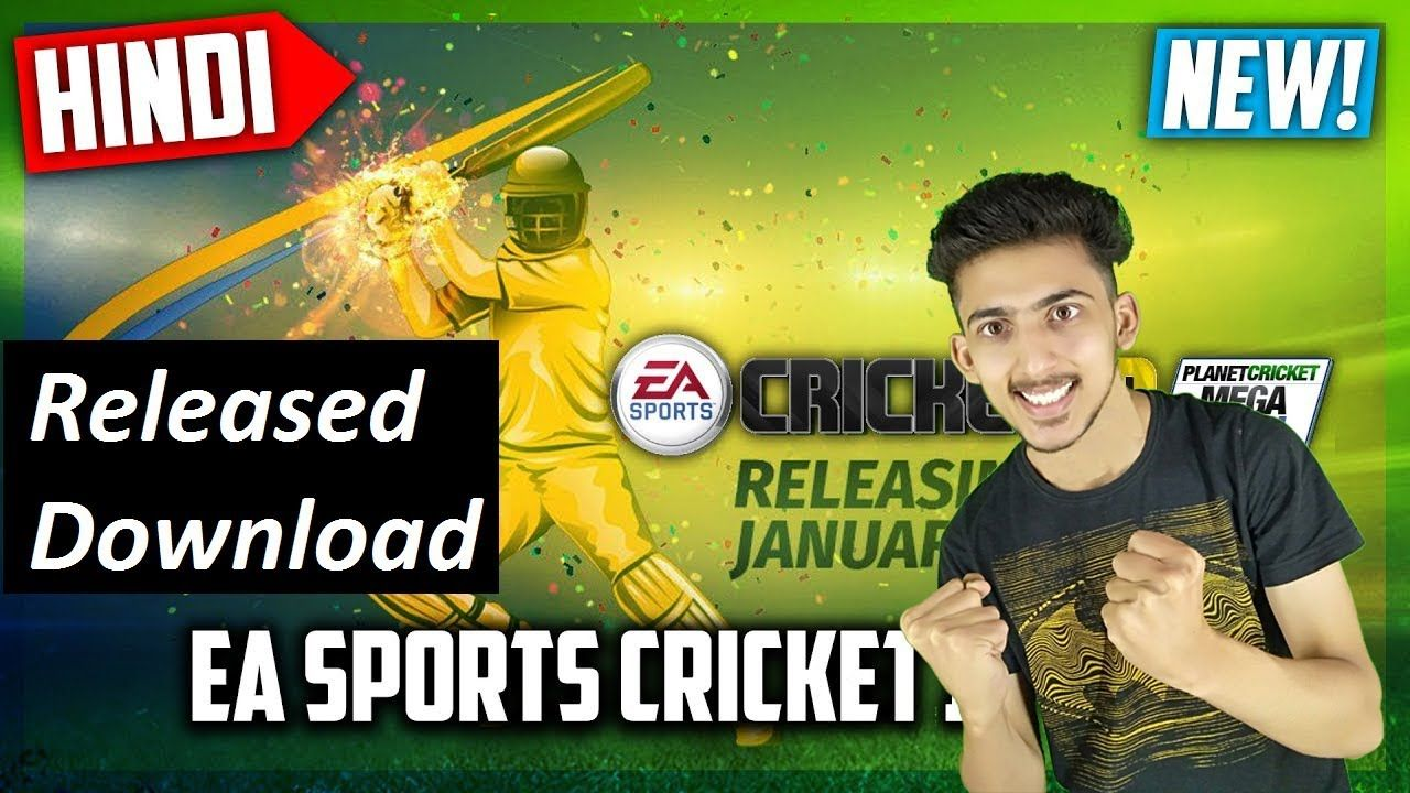 Ea Sports Cricket 2019 Download Now Released Gameplay