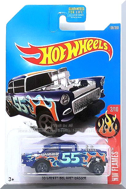 Hot Wheels '55 Chevy Bel Air Gasser HW Flames 2/10