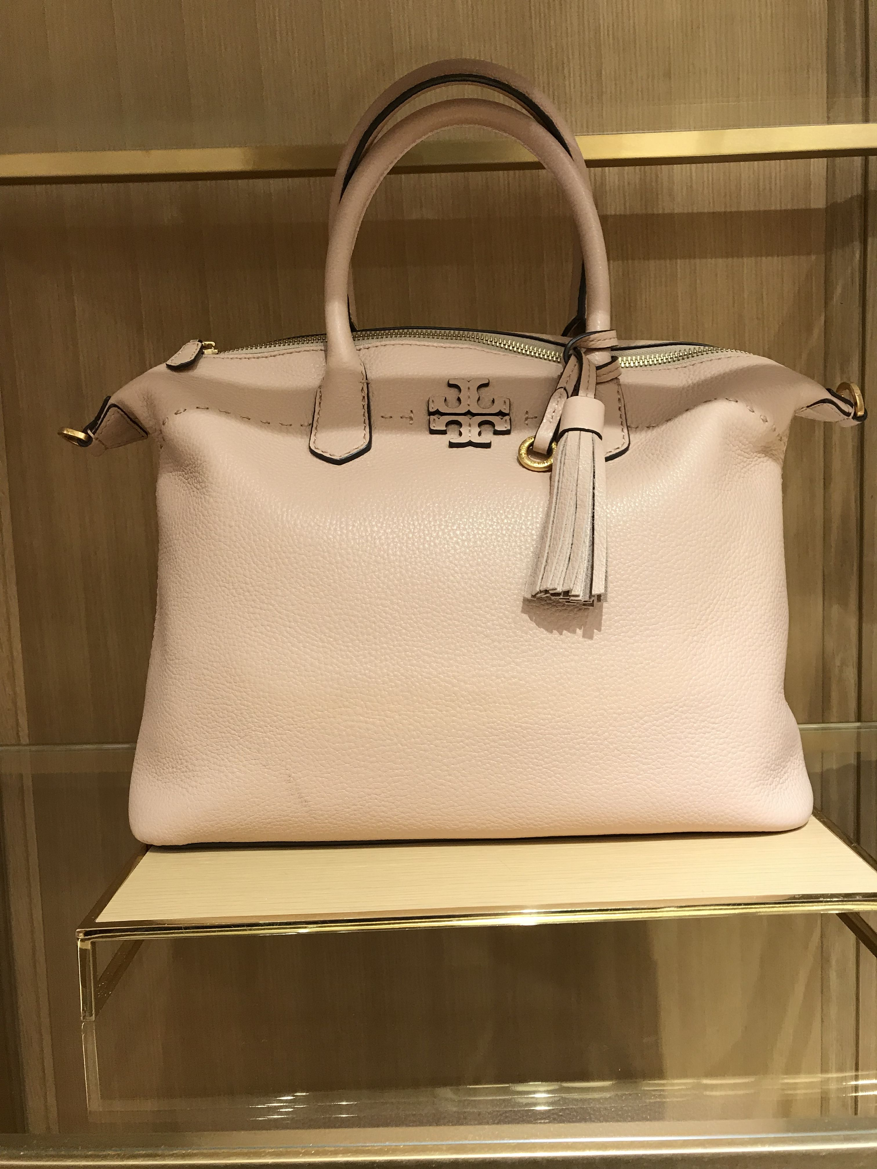 b4ccf6b2363 McGraw Slouchy Satchel Devon Sand. Find this Pin and more on Tory Burch  Handbags ...