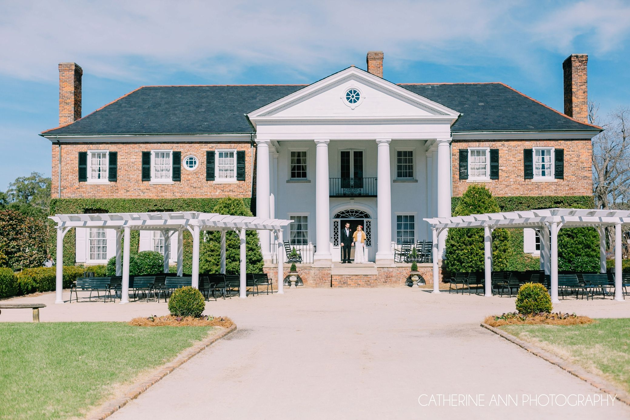 Boone Hall Plantation Wedding By Charleston Photographers Catherine Ann Photography