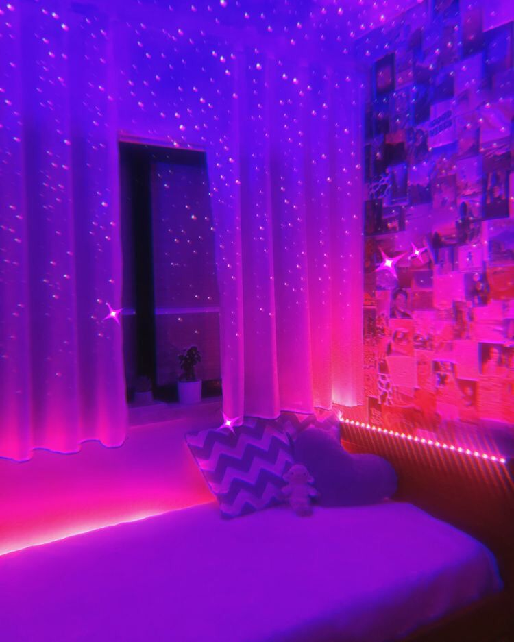 Tiktok Inspired Neon Room Room Design Bedroom Neon Room Dream Room Inspiration
