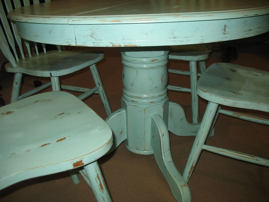 Furniture Wonderful Distressed Dining Table With Bench From The Harmony From The Distressed Dining Table Choice