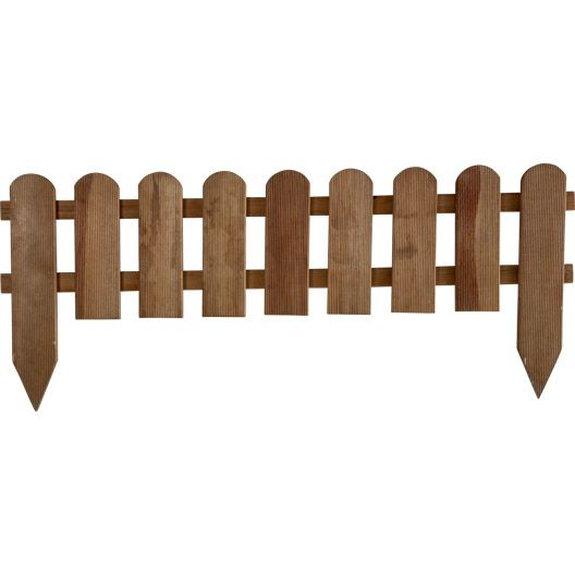 Bordure à Planter Panama Bois Marron H 45 X L 110cm 5