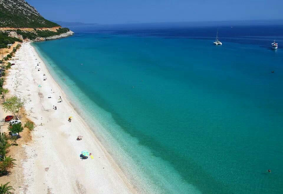 Poros beach @ Kefalonia island