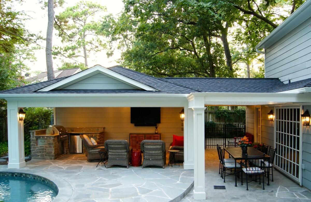 Best After Off Garage Patio Cover Build Backyard Diy Patio 400 x 300