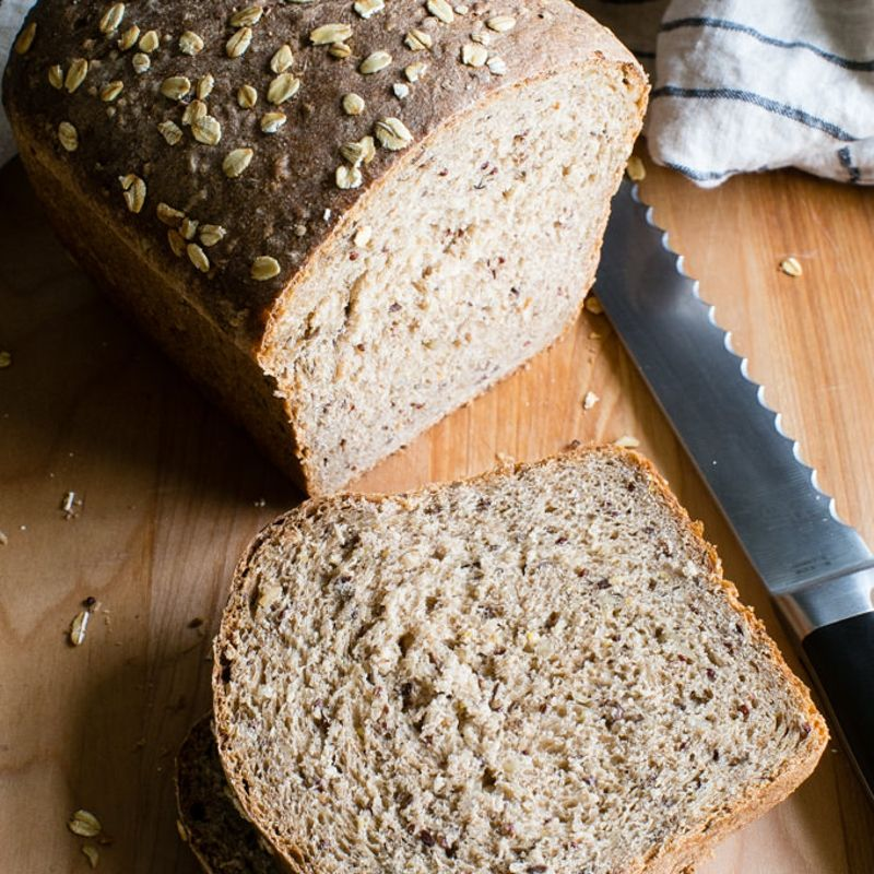 Pão de Forma de Cereais | Máquina de Pão                                                                                                                                                                                 Mais