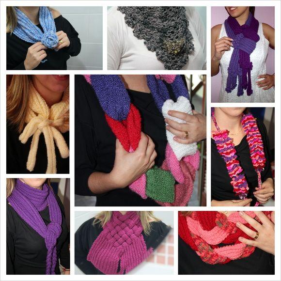 No frio, nada como peças lindas em lã para aquecer. Xales, echarpes, cachecóis e golas são uma ótima opção para as mulheres que não abrem mão do charme e do estilo. Para conhecer os modelos, saber valores e cores disponíveis, escreva uma mensagem!
