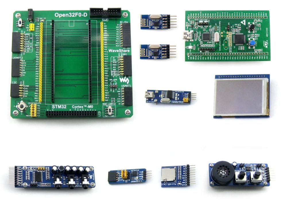 Open32F0-D Package A # ARM STM32 DISCOVERY Cortex-M0