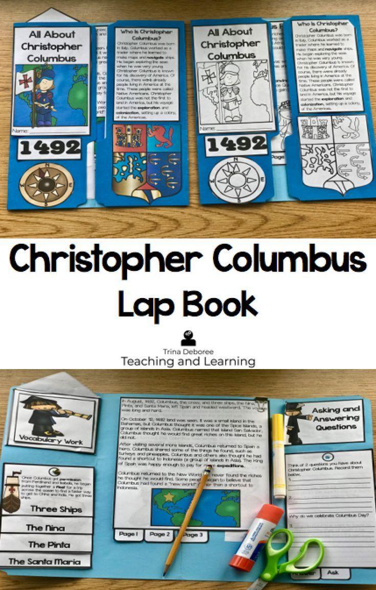 Christopher Columbus: How to Create a Columbus Day Activity for Kids.  Columbus Day activities for kids #chri...