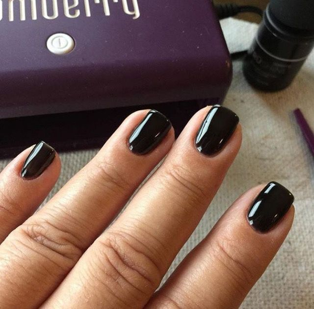 Jamberry black onyx TruShine gel | Jamberry TruShine | Black onyx ...
