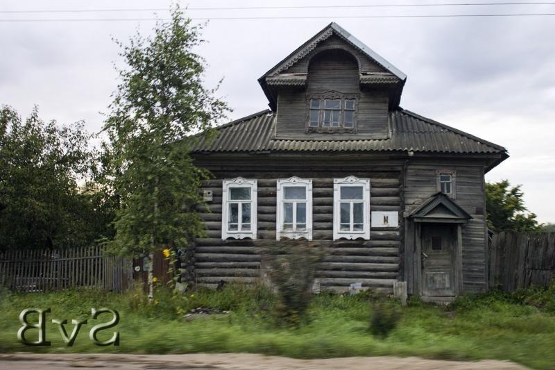 Staryj Derevyannyj Dom Dom Arhitektura Derevyannye Doma