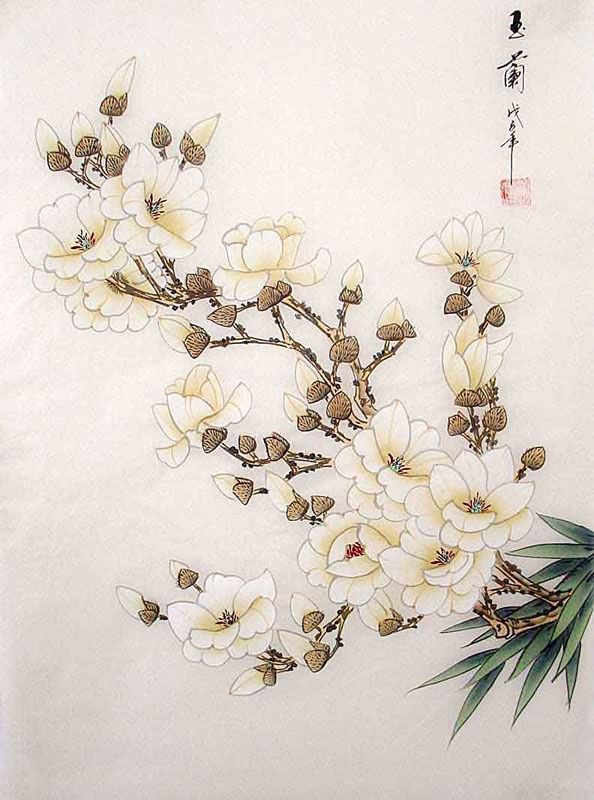 2336033 Jpg 594 800 Japanese Flower Tattoo Floral Painting Flower Art