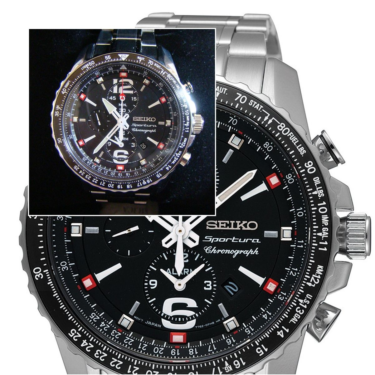 SEIKO Sportura Pilot's Watch 2000s  In the reality & commercials