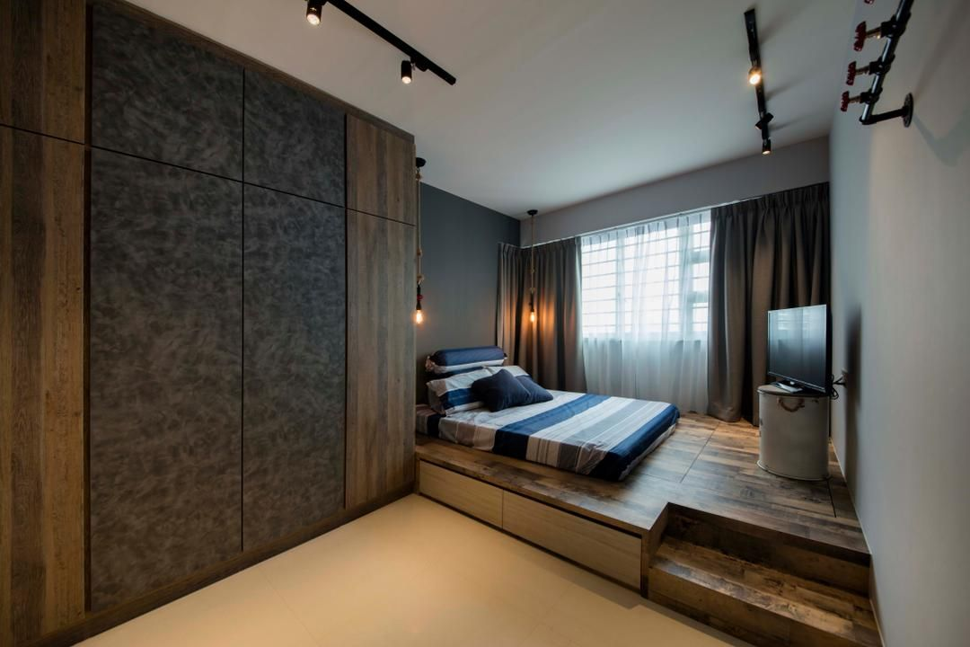 Pin By Tong Saelee On Renovation Ideas Bedroom Layouts Platform