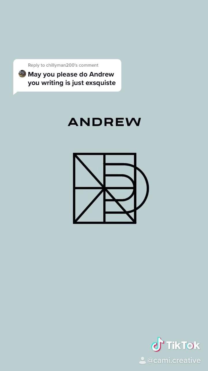 Name Logo Design Andrew Video Logo Design Trends Name Logo Logo Word