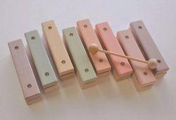 pastel rainbow xylophone