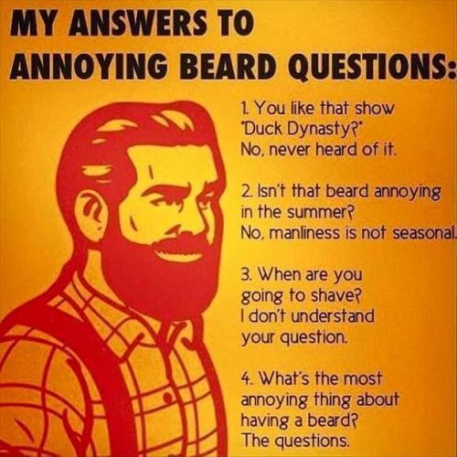 Funny Pictures And Quotes Of The Week 50 Pics Beard Jokes Beard Humor Beard Memes