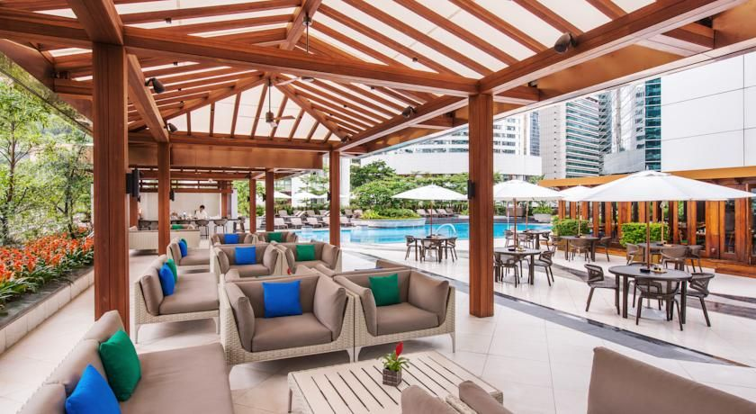 Pool Lounge At 5 Star Hotel Jw Marriott Hong Kong This S Address Is Pacific Place 88 Queensway Admiralty Central Sheung Wan