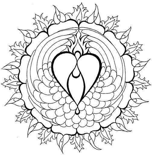 Mandalas Del Amor Cuál Es Su Significadocómo Se Hacen Diseñar