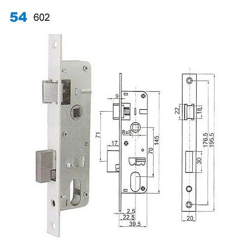 Exterior Door Lock,security Lock Mechanism,yale Lock,Drzwi  Wewnętrzne,Врезные замки