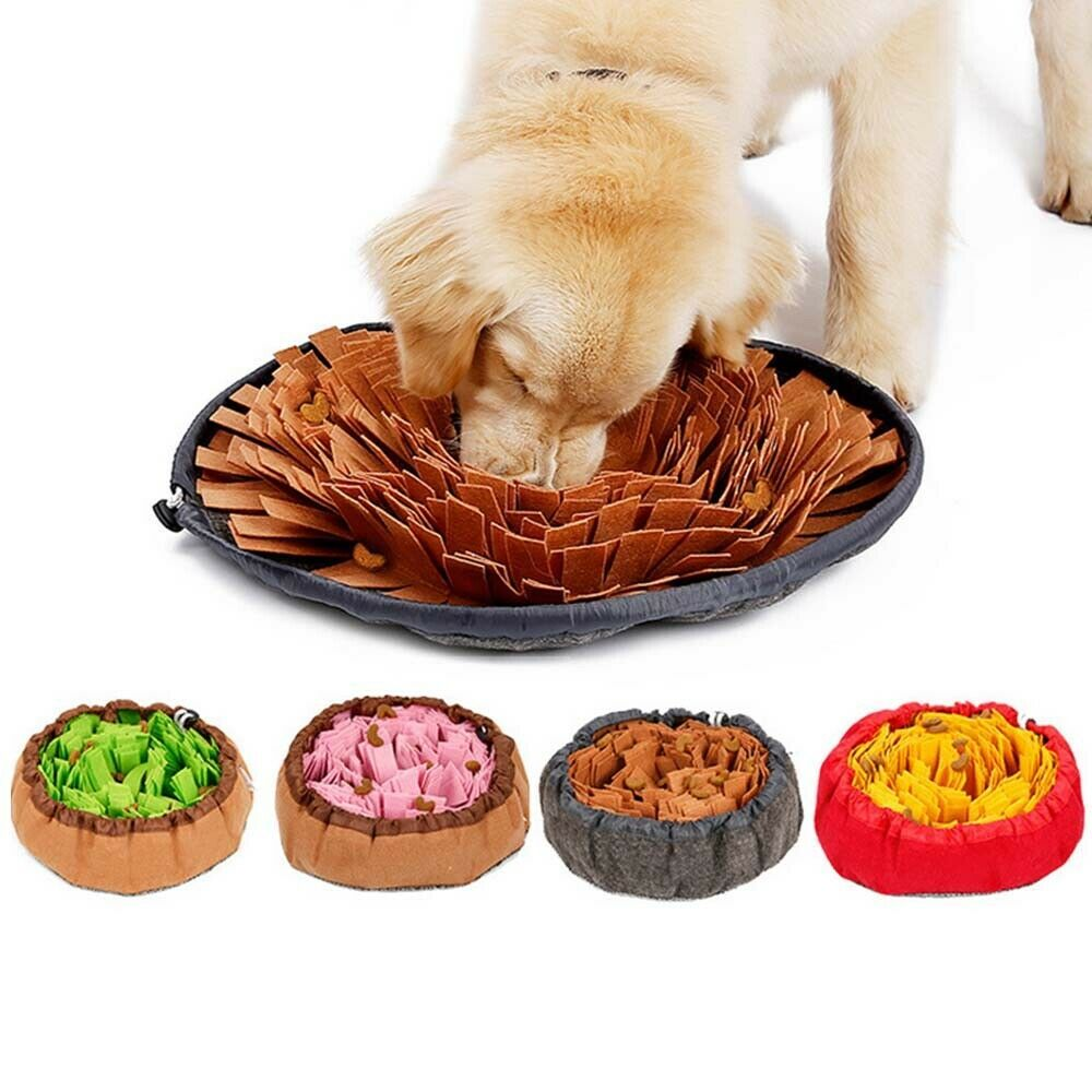 1 X Pet Snuffle Mat The Bottom Is Non Slip Cloth Which Can Effectively Fix The Mat And Prevent The Dog From Moving The Mat Pet Toys Cheap Dog Toys Dog Toys