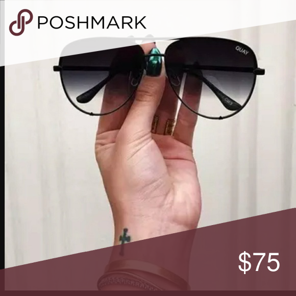 dc5c50b765 Desi perkins · DesixQuay High Key Black Fade glasses ...